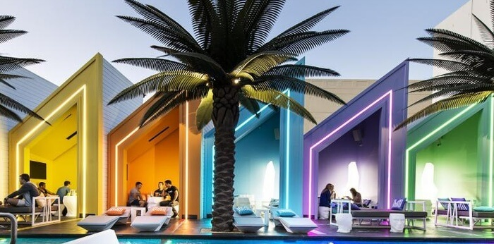 Matisse Beach Club Exterior