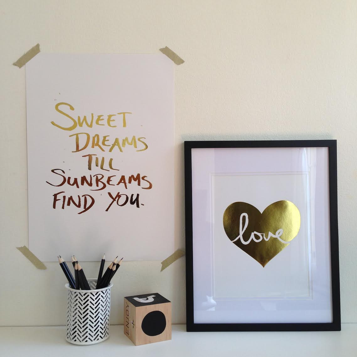 Sweet Dreams Print by My Sweet Prints