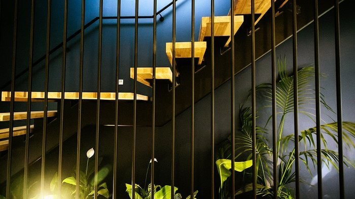 The Block Glasshouse - Michael and Carlene's Staircase