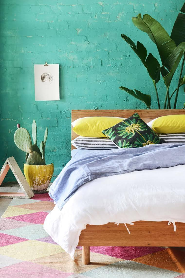 Tropical Pillow Cases - I love Linen