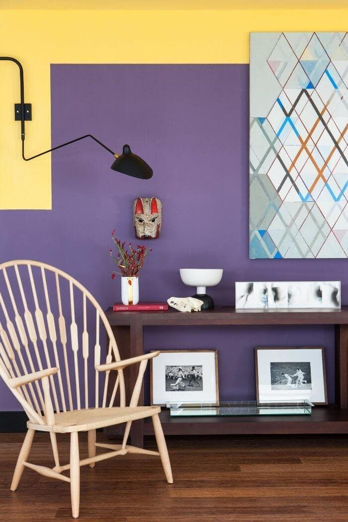 Bold Home Design Ideas - Colour Blocking