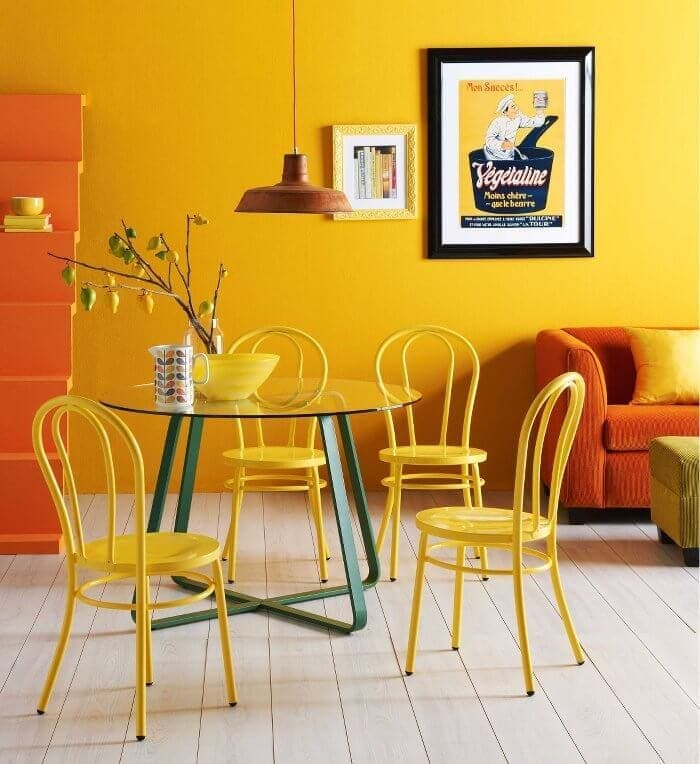 Bold Interior Design Ideas - Citrus Tones