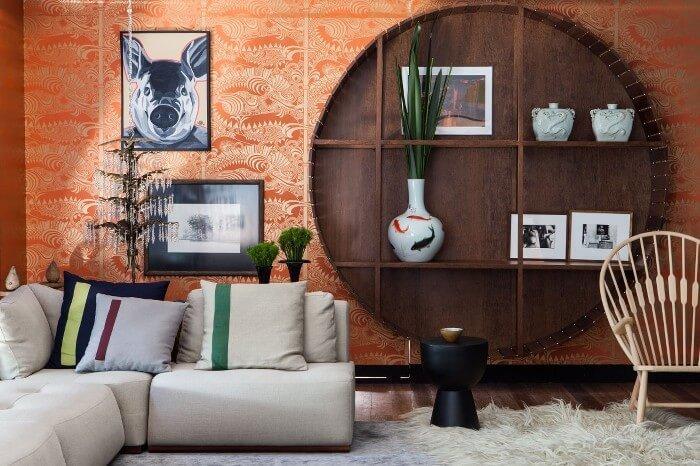 Bold Interior Design Ideas - Feature Wall