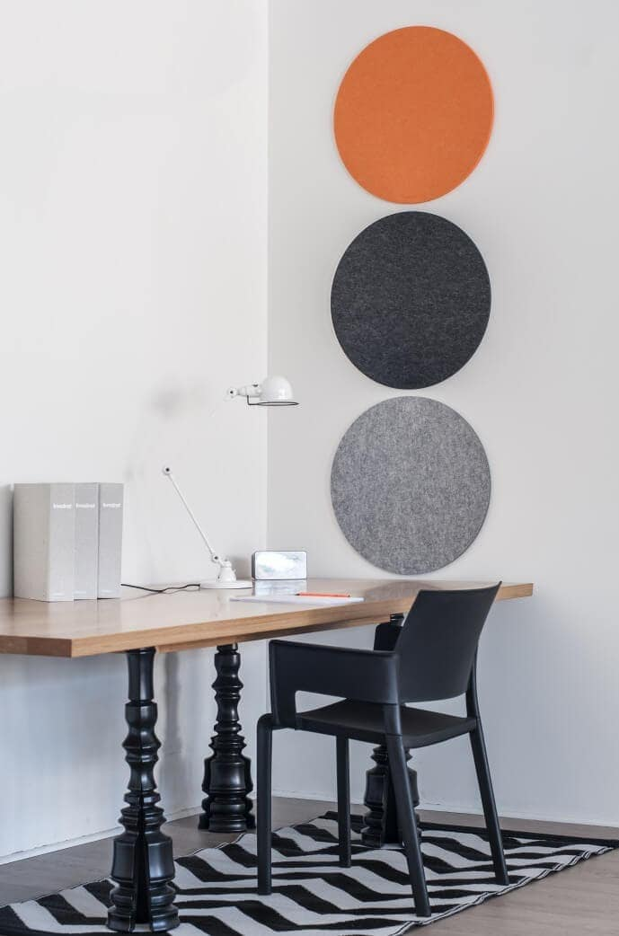 Desk Accessories - Felt Pinboard