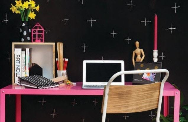 Hot Pink Factory Desk - Vavoom Emporium