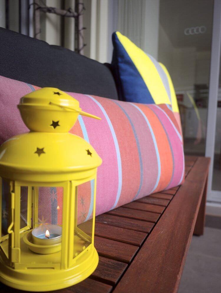 IKEA Lanterns - Balcony Makeover