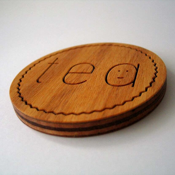 Wooden Coasters from Manual Arts Dept