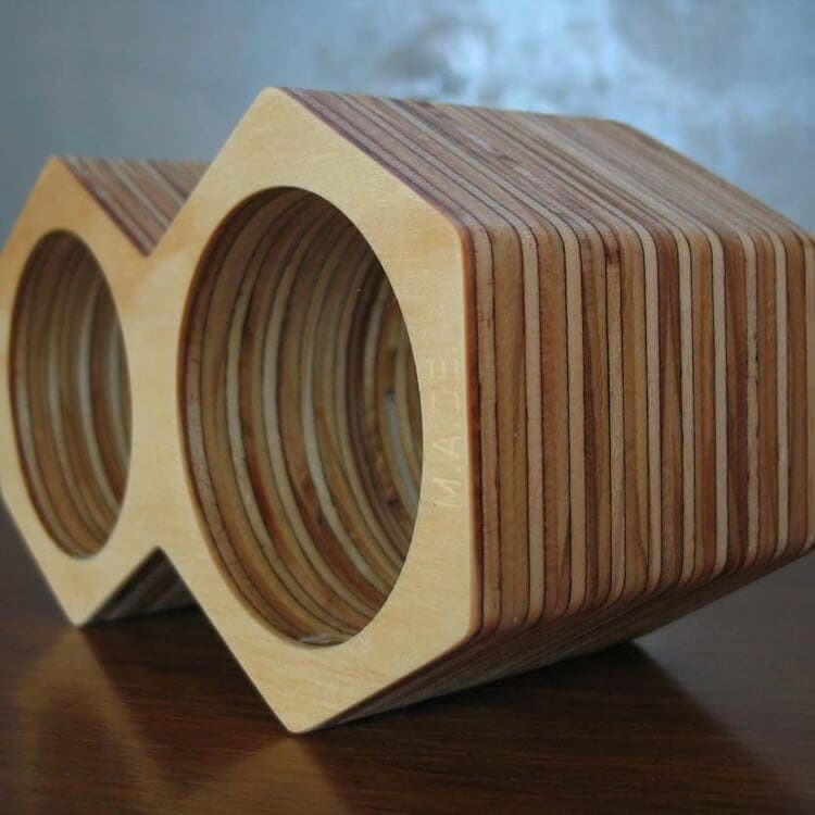 Wooden Homewares - WIne Bottle Holder