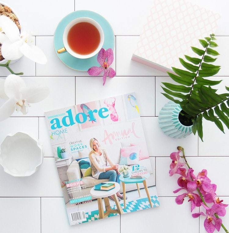 Adore Home Annual Edition - Front Cover
