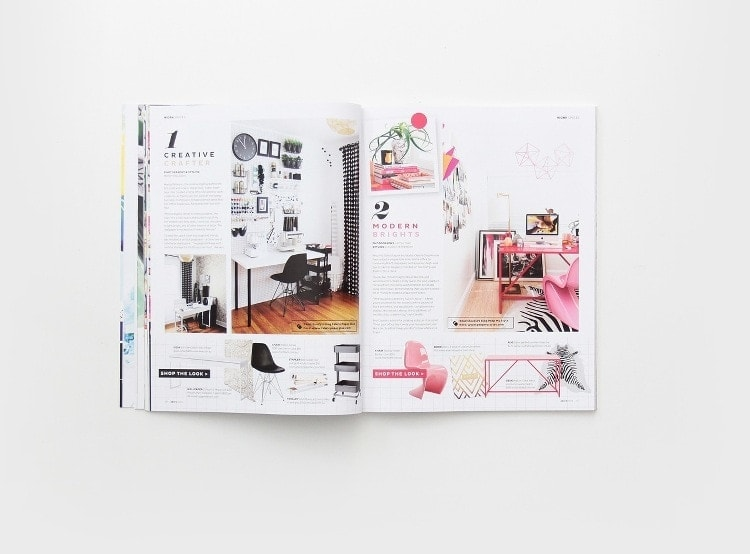 Adore Home Magazine - Annual - Office Decorating