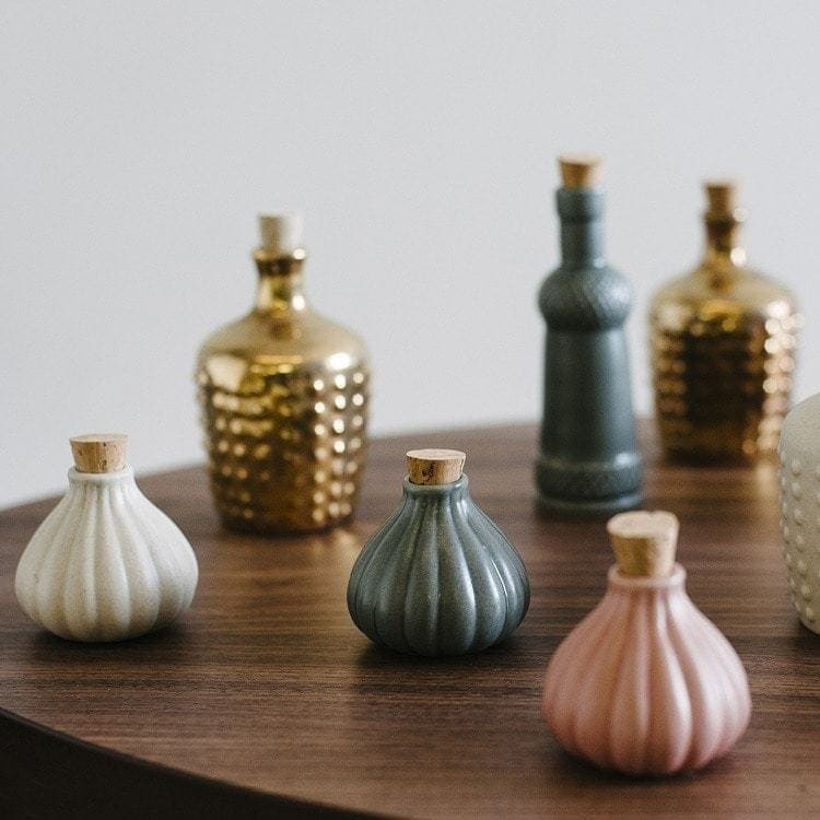Assorted Ceramic Bottles by Love Hate