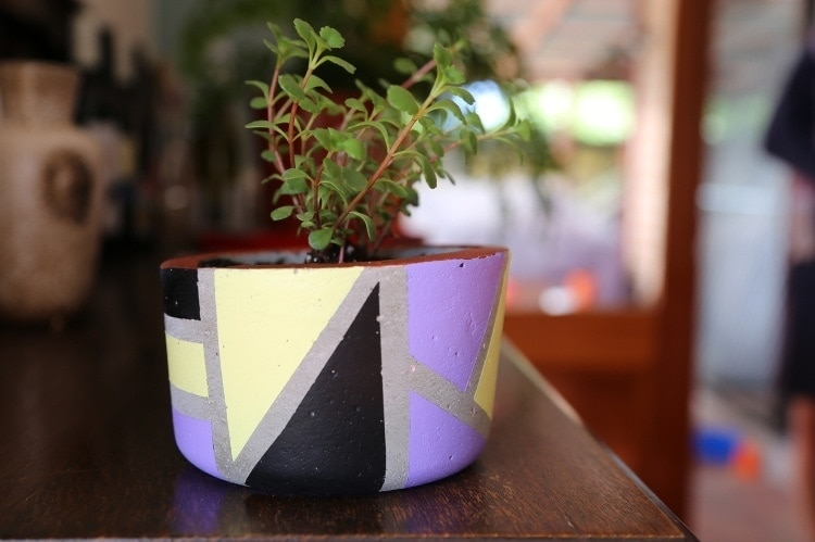 DIY Cement Pot Project