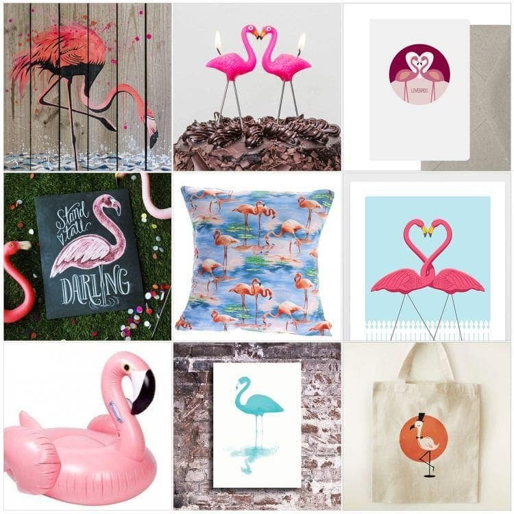 Flamingo Homewares and Decor from Down That Little Lane