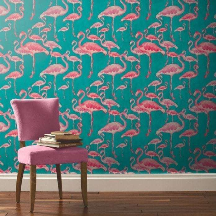 Flamingo Wallpaper - Flamingo Homewares and Decor
