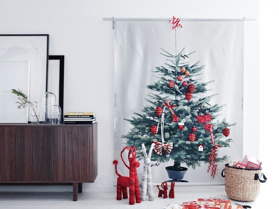 IKEA Christmas 2014 - IKEA Chrismtas Tree in Red and White