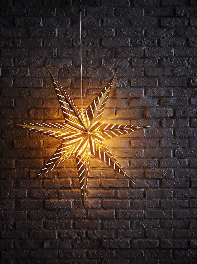 IKEA Christmas 2015 Star Light