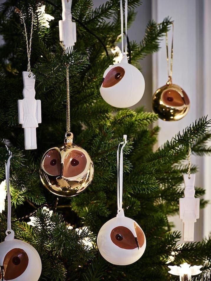 IKEA Christmas 214 - Owl Christmas Baubles