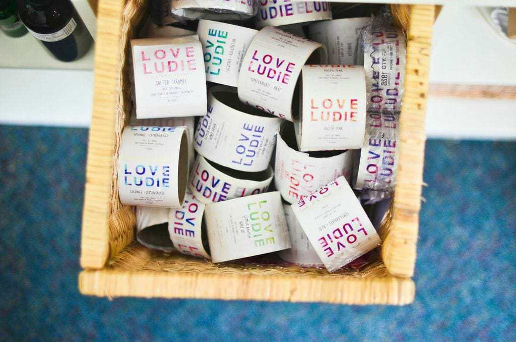 Love Ludie Candle Labels