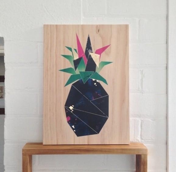 Pineapple Art - BEAN Home & Body