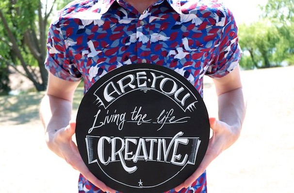 The Life Creative Sign