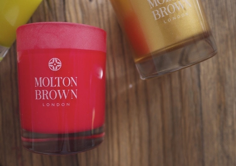 Three Kings Candle Set from Molton Brown