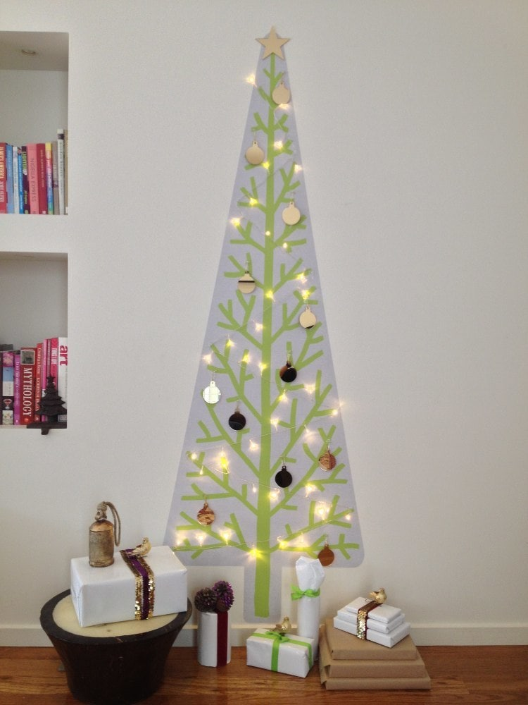 Wallpaper Christmas Trees from Treekandi