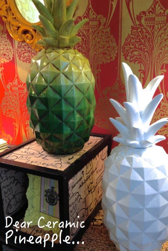 Dear Ceramic Pineapple - Pineapple Homewares