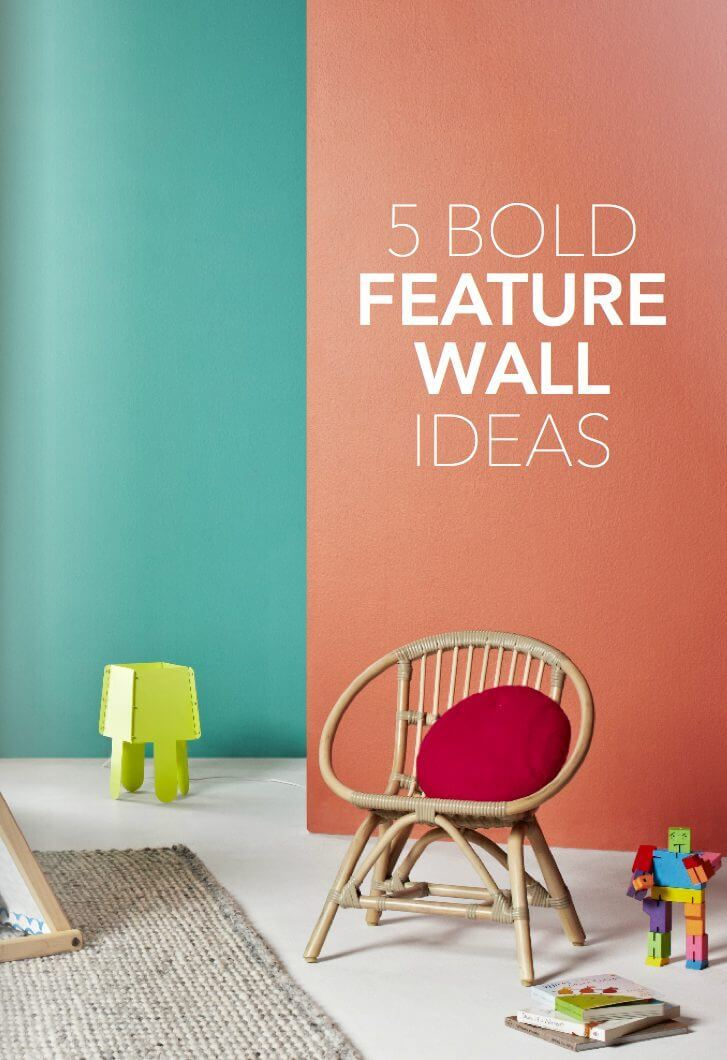 Feature Wall Ideas on The Life Creative