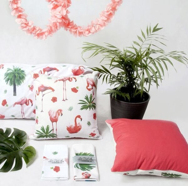 Flamingo Homewares Online from Jasper and Eve