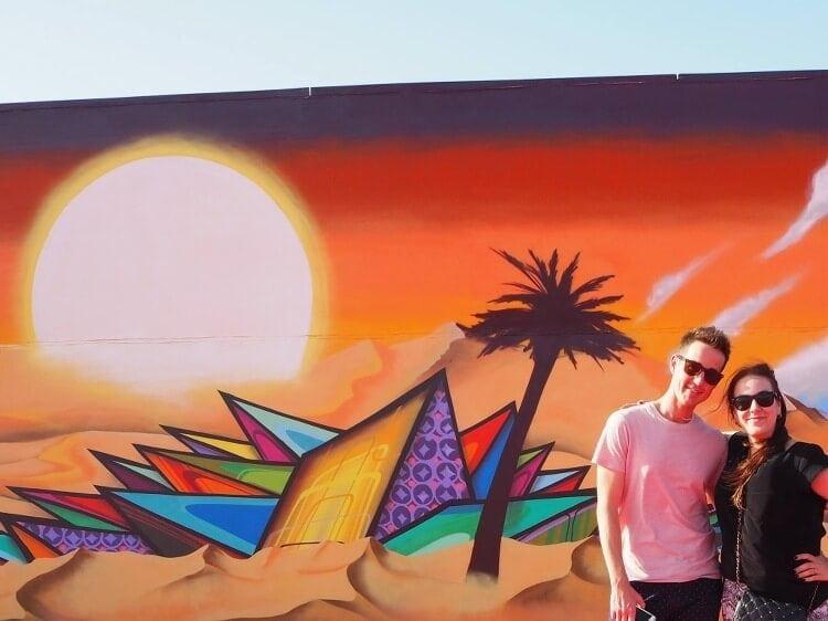 Graffiti in Dubai - Longest Graffiti Wall