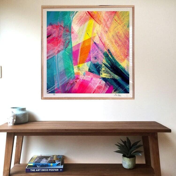 Sabi Klein Art Framed