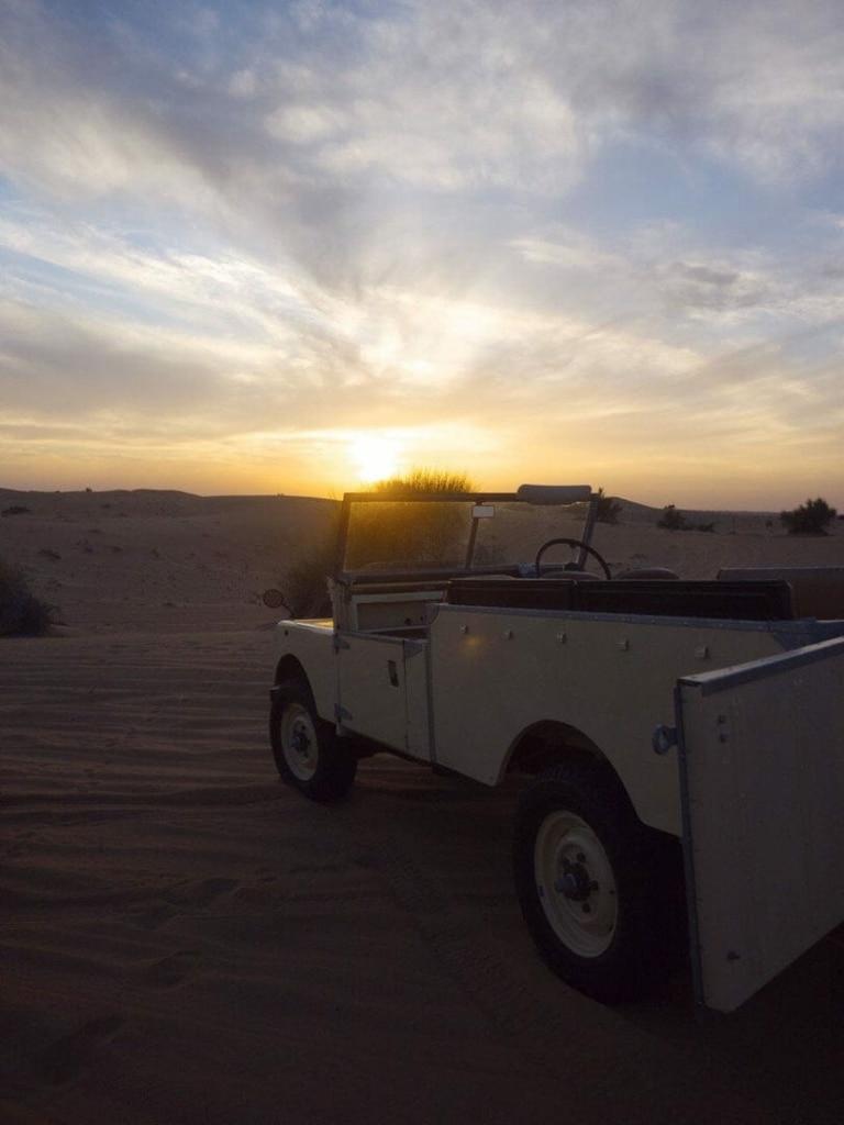Traveling to Dubai - Desert Suset in Dubai