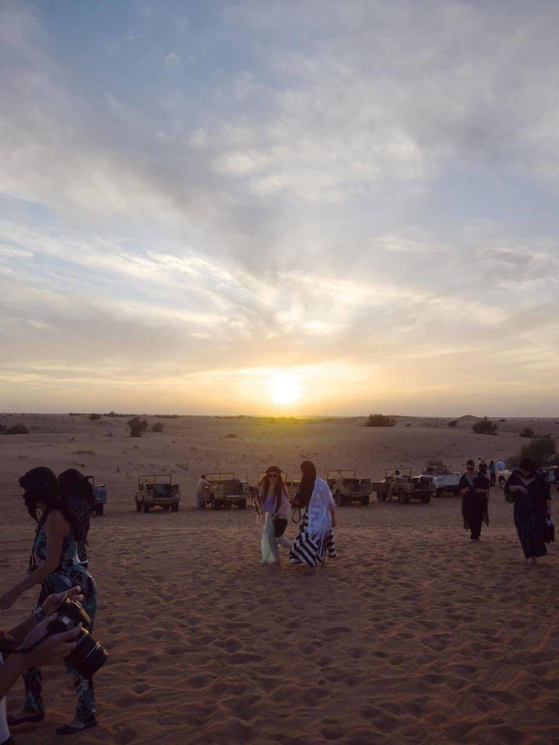 Traveling to Dubai - The Dubai Desert Sunset