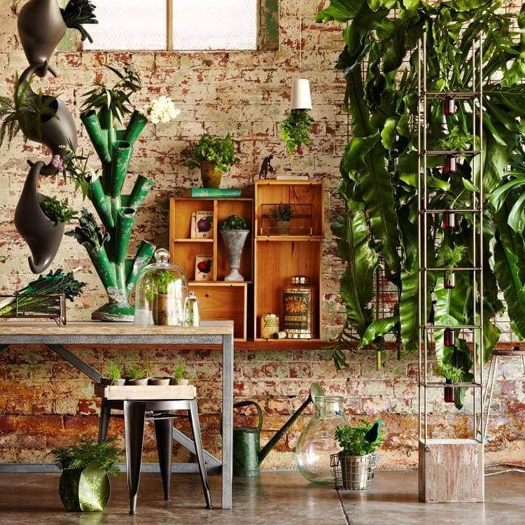 2015 Interior Trends - Botanics - Image via Birdcage Design
