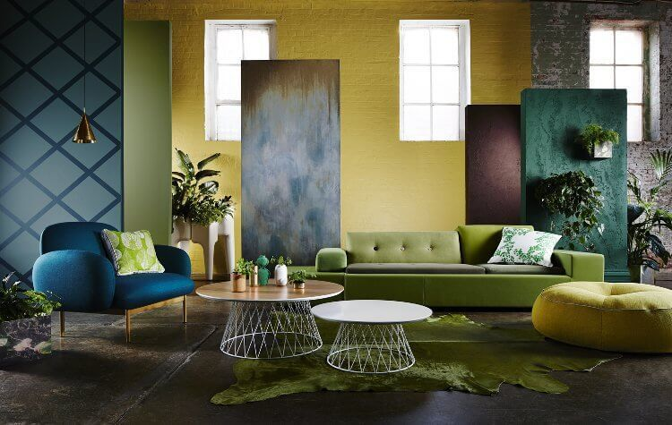 2015 Interior Trends - Botanics - image via Dulux