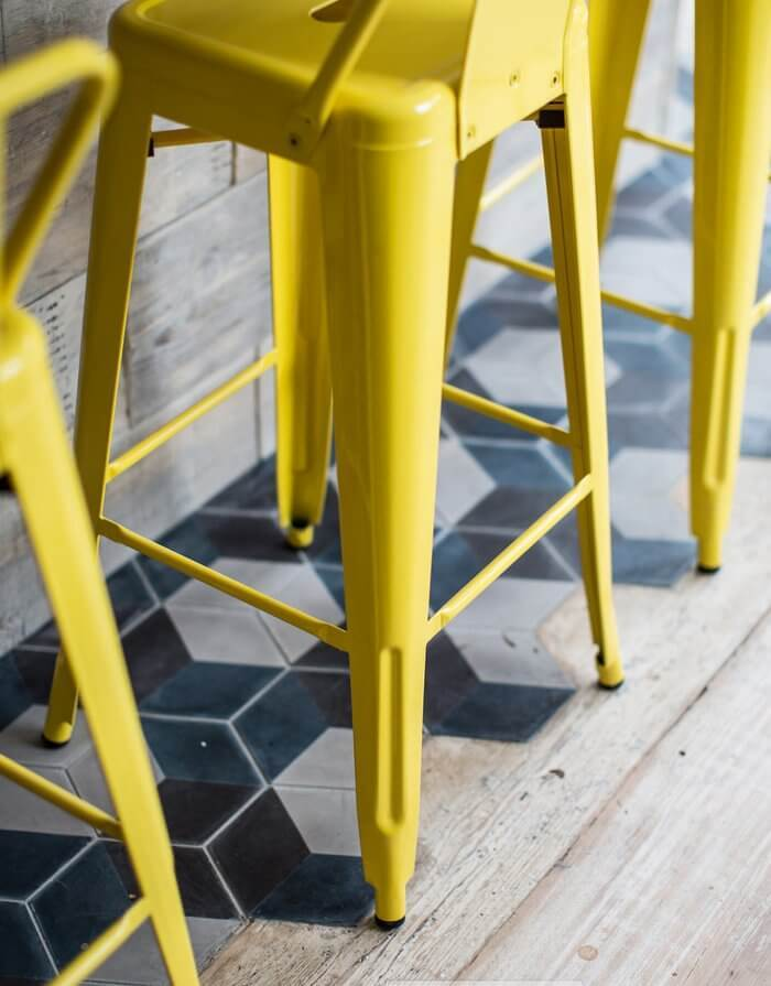Colour and Warmth in Industrial Design Interior