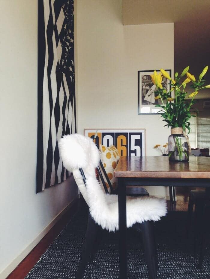 Eclectic Creative Home Tour - Dining Room