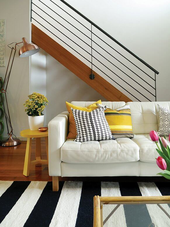 Eclectic Creative Home Tour - Living Room
