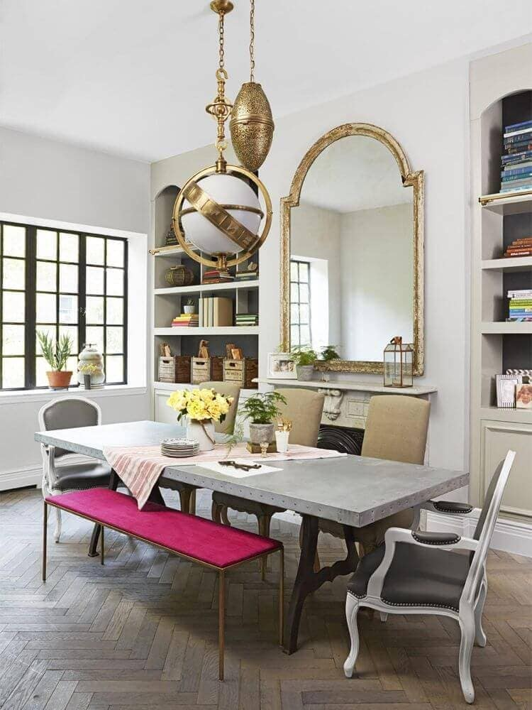 Genevieve Gorder's Apartment in New York - Dining Room