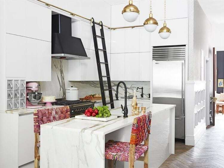 Genevieve Gorder's New York Apartment - Kitchen