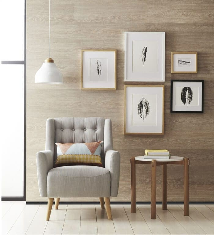 How to Declutter - Photo Gallery Wall