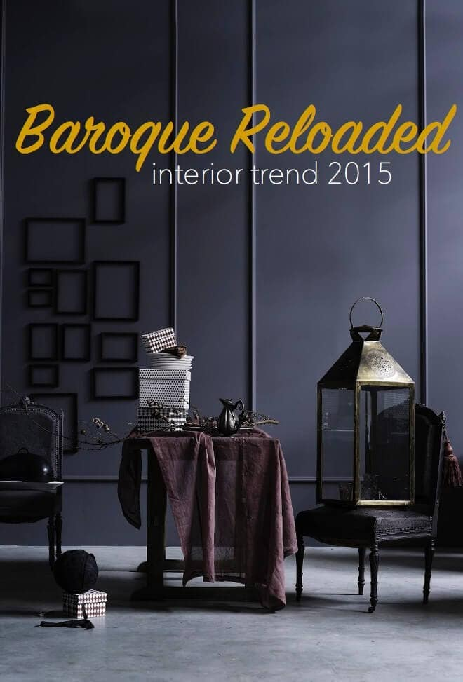 Interior Trends for 2015 - Baroque Reloaded