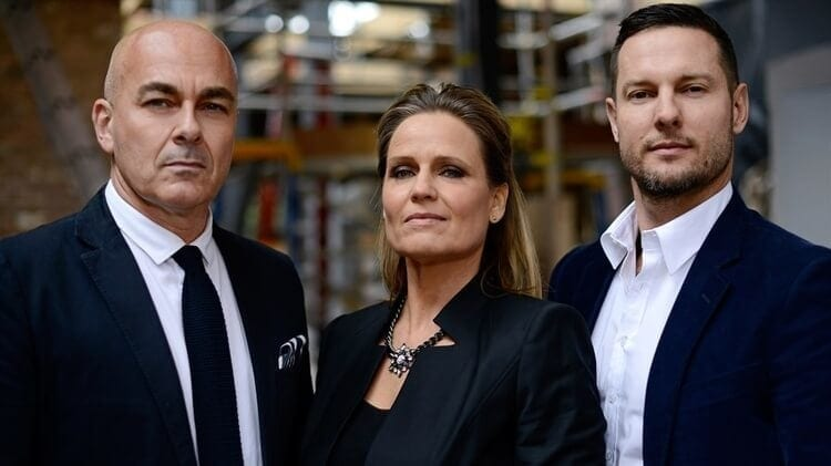 The Block Judge Neale Whitaker with Shaynna Blaze and Darren Palmer