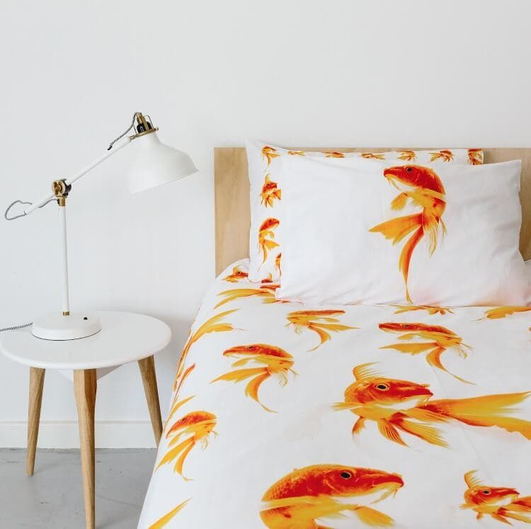 Colourful Bedding by Dreamers Inc - Goldfish