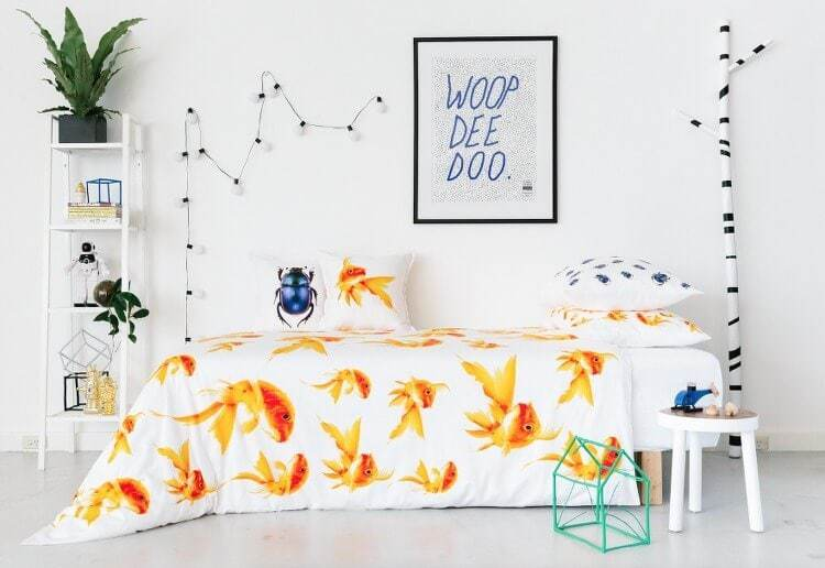 Goldfish Bedding by Dreamers Inc