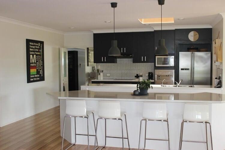 Inside Emma Flint's Brisbane Home - Kitchen