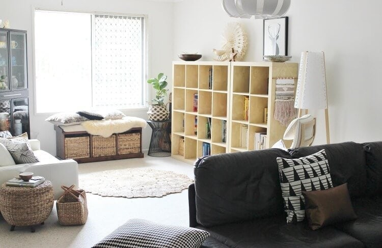 Inside Emma Flint's Brisbane Home - Living Room