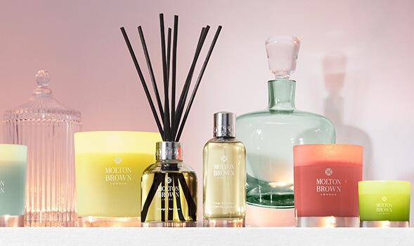 Molton Brown's new candle collection