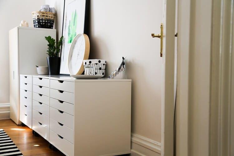 Scandi Home Office Design Ideas - Storage