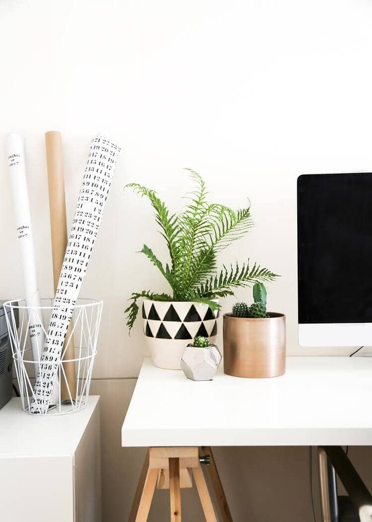 Scandi Home Office Design Ideas